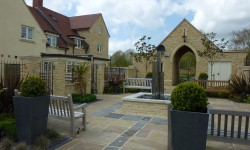 The Courtyard at Abbeymead Court